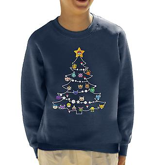 Pokemon bollen kerstboom Kid's Sweatshirt