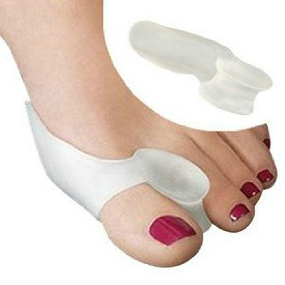 Boolavard 2x Gel Bunion Protectors, Toe Separators, Straighteners
