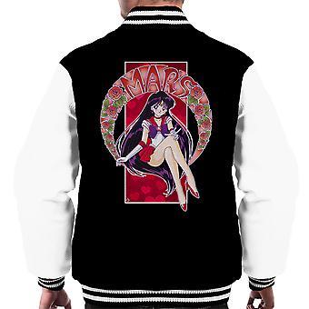 Sailor Mars Sailor Moon Men ' s Varsity bunda