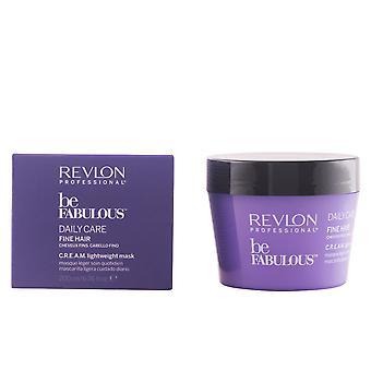 Revlon worden fantastische dagelijkse zorg fijn haar crème masker 200 Ml Unisex