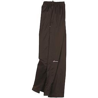 Dilúvio Overtrousers regulares perna Berghaus feminino - preto