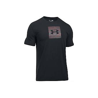 Under Armour Camo Boxed Logo SS Tee 1297954-002 Mens T-shirt