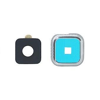 voor Samsung Camera Ring Cover - Galaxy S5, zilver
