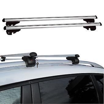 Fifth Gear 120cm Heavy Duty Aluminium Anti-Theft Lockable Universal Roof Bars