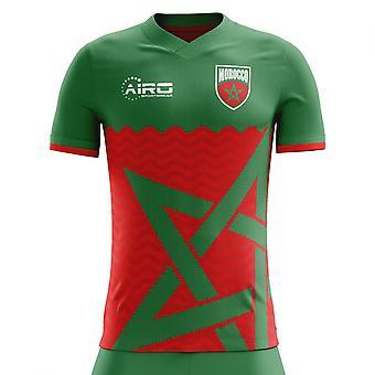 2018-2019 Morocco Home Concept Football Shirt - Womens
