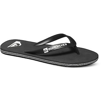 Quiksilver Mens Molokai flexibla tå punkt Flip Flop sommar sandaler