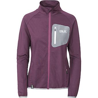 Intrusion Womens/dames Darby tricoté Quickdry Full Zip frontal DLX Top