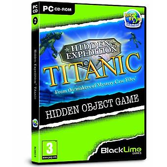 Hidden Expedition Titanic (PC CD) - As New