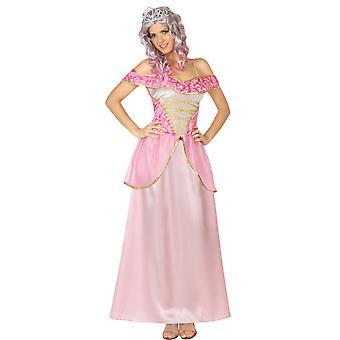 Vrouwen kostuums vrouwen roze prinses jurk voor dames