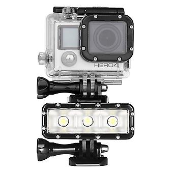 Waterdichte lamp voor GoPro HERO5 sessie 300 / 5 / 4 sessie / 4 / 3 + / 3 / 2 / 1