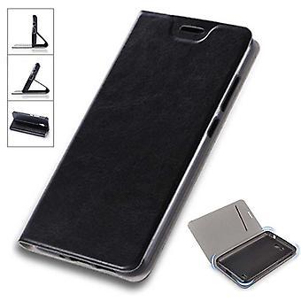 Vänd / smart cover svart för Samsung Galaxy S9 plus G965F skyddande fall cover pouch fodral cover nytt fall