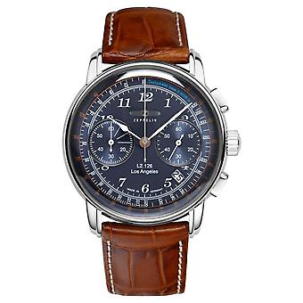 Zeppelin | LZ126 | Los Angeles | Blue Chronograph | 7614-3 Watch