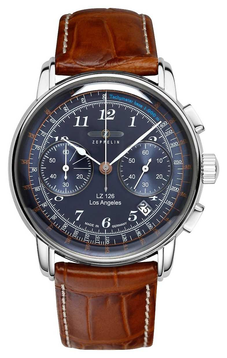 Zeppelin | LZ126 | Los Angeles | Blue Chronograph | 7614-3 Watch