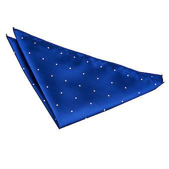Royal blå Pin Dot Pocket Square