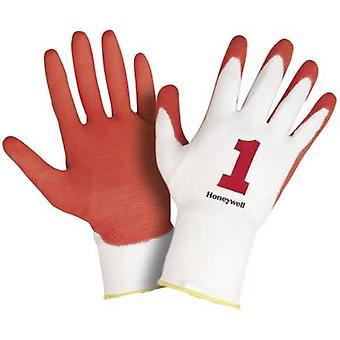 Honeywell AIDC Check & Go Red PU 1 2332255 Polyamide Protective glove Size (gloves): 11, XXL EN 420-2003 , EN 388-2003 CAT II 1 Pair