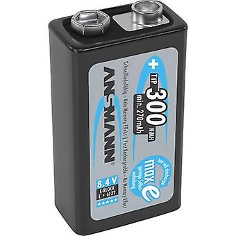 Ansmann maxE 6LR61 9 V / PP3 battery (rechargeable) NiMH 300 mAh 8.4 V 1 pc(s)