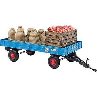 Busch 44995 H0 Trailer com a carga de maçã