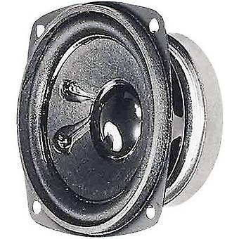 Visaton FRS 8/4 3.3 inch 8 cm Wideband speaker chassis 30 W 4 Ω