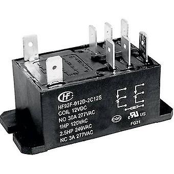 Hongfa HF92F-240A5-2C21S Plug-in relay 240 V AC 30 A 2 change-overs 1 pc(s)