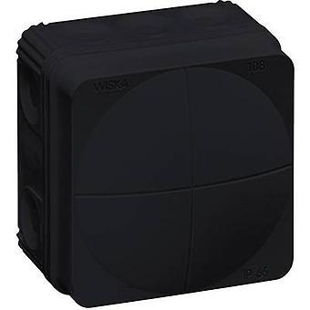 Wiska 10061999 בתיבת הצומת (L x W x H) 76 x 76 x 51 mm IP66 שחור