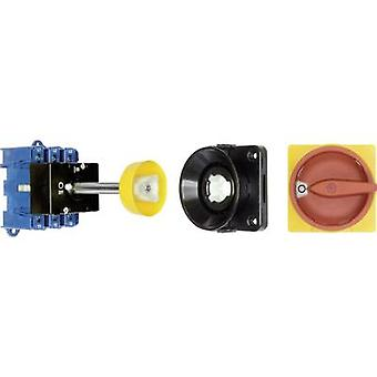 Kraus & Naimer KG125 T203/09 VE Isolator switch + door interlock 125 A 1 x 90 ° Red, Yellow 1 pc(s)