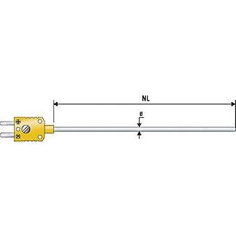 B & B Thermo-Technik K625C0150-30 Immersion probe -200 up to +1100 °C Sensor type K