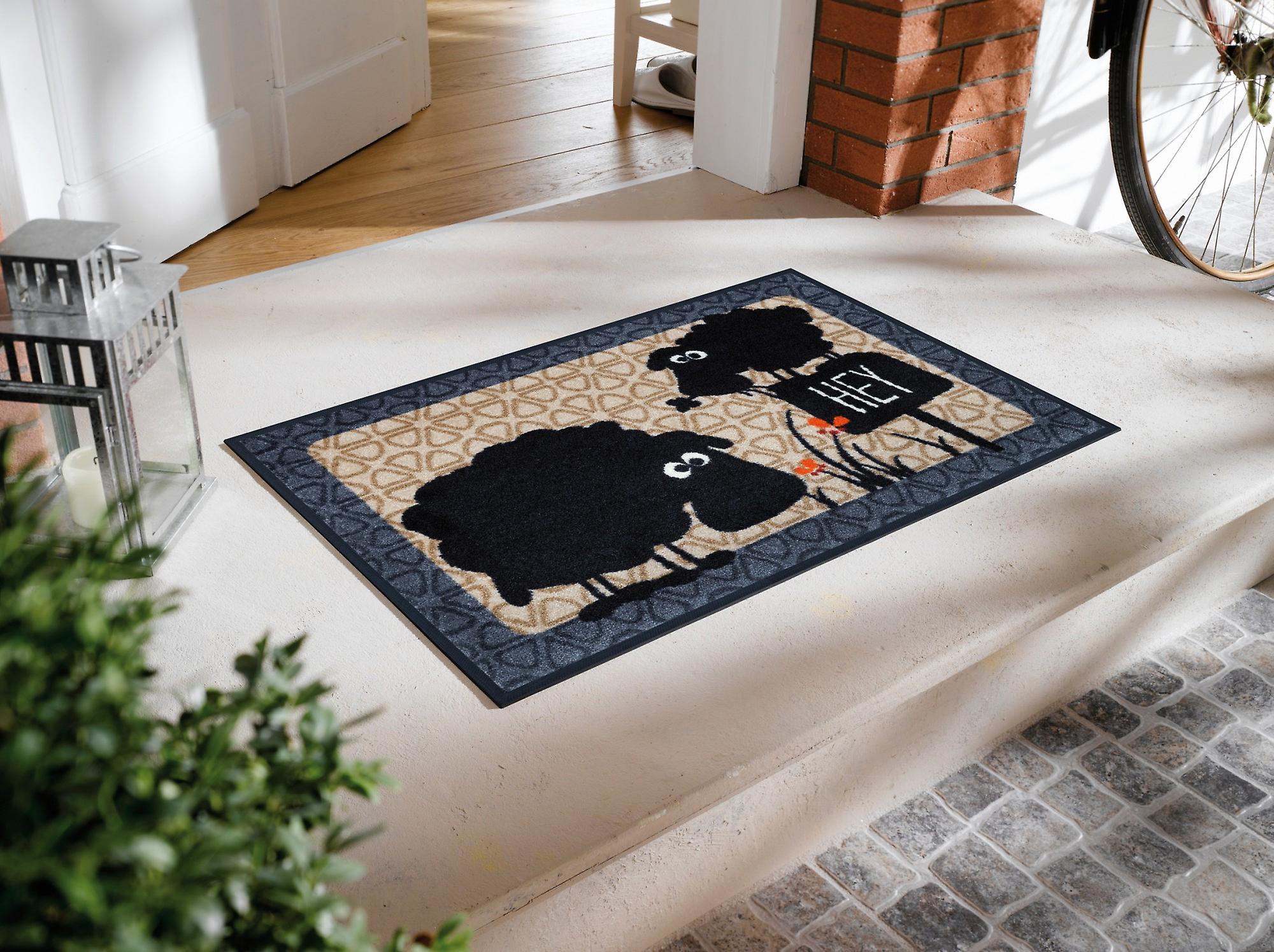 Gertrud & Elsbeth 50 x 75 cm Fußmatte wash+dry