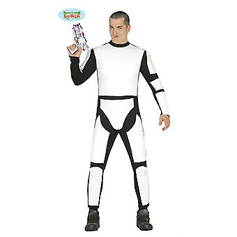 Espace soldat espace astronaute clone Warrior costume mens star Warrior