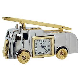 Gave produkter Vintage brandbil Mini ur - sølv/guld
