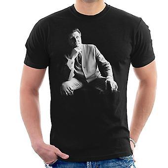 TV ganger Tommy Cooper portrett 1971 menn t-skjorte