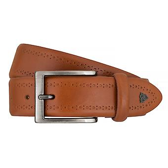 ROY ROBSON belts men's belts leather belt Cognac 7614