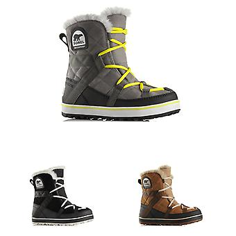 Womens Sorel Glacy Explorer Shortie Snow Waterproof Winter Hiking Boots