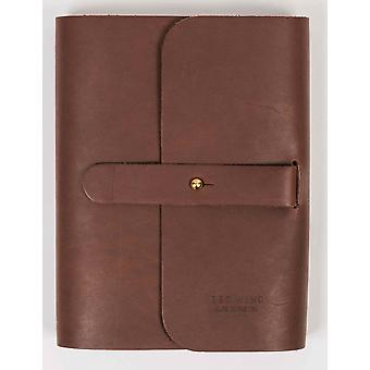 Red Wing 95039 Leather Journal - Amber Front