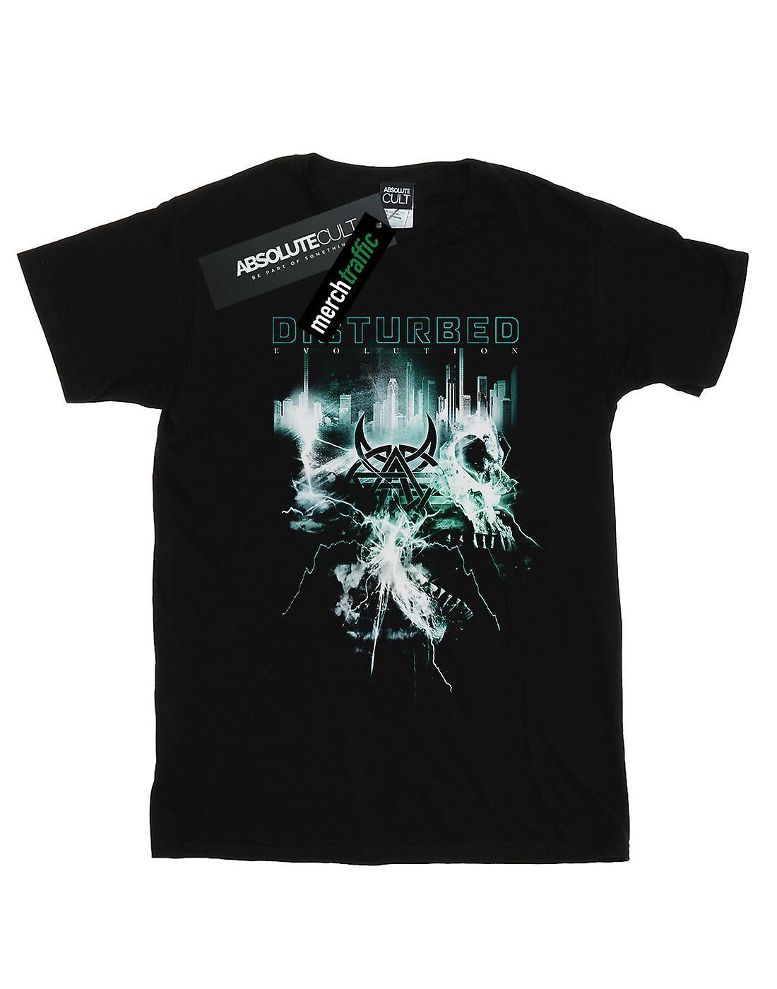 Disturbed Women's Evolution Apocalypse Boyfriend Fit T-Shirt