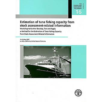 Schatting van de vangstcapaciteit van de tonijn uit voorraad beoordeling-gerelateerde Inf