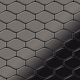 Metal mosaic Titanium ALLOY Karma-Ti-SM