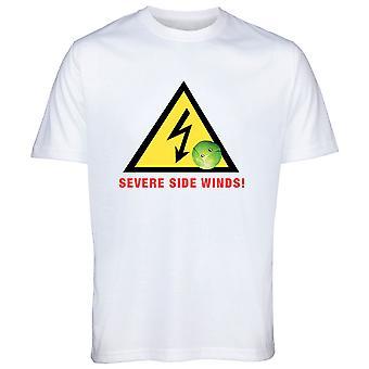 Vaikea puoli tuulet Brussel ITU Christmas Tshirt