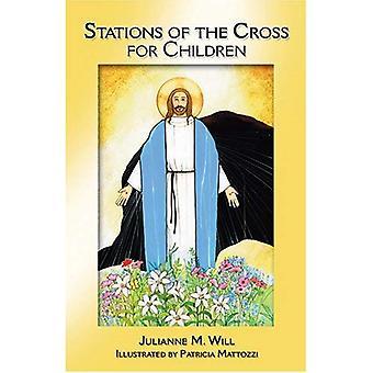 Stationer på korset för barn