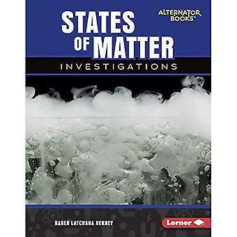 Estados de la materia investigación (preguntas claves en ciencias físicas)