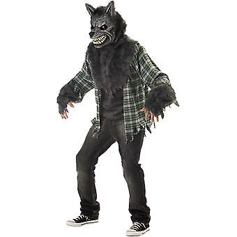 Moon Wolf Adult Costume