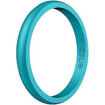 Enso Rings Halo Elements Series Silicone Ring - Peacock Quartz