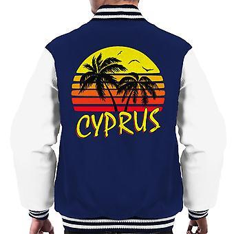 Cypern Vintage Sun mäns Varsity jacka
