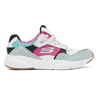 Skechers Meridian Charted Womens White / Multi Trainers