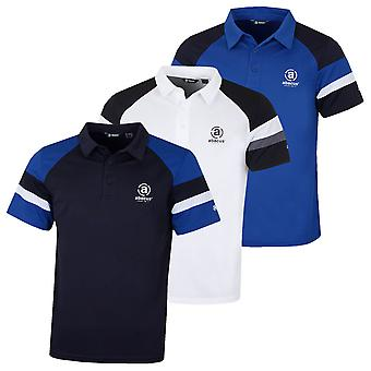 Abacus Mens Mens Daniel Golf Wicking Drycool Polo Camicia