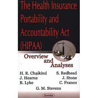 The Health Insurance Portability and Accountability Act (HIPAA) - Over