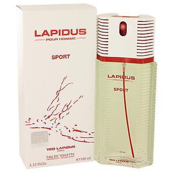 TED LAPIDUS pour Homme sport Eau de Toilette 100ml EDT spray