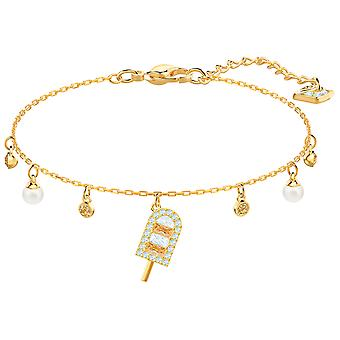 Swarovski No Regrets Ice Cream Bracelet - Multi-coloured - Gold Plating