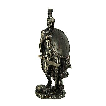 Spartan Warrior King Leonidas Bronze Finished Statue