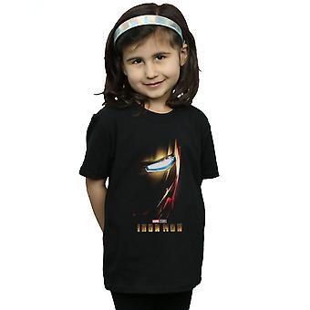 Marvel Studios Girls Iron Man Póster Camiseta