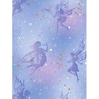 Ser deslumbrado Fairy Dream wallpaper Moondust Coloroll M1422
